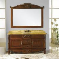 Buy cheap Classic Bathroom Cabinet with Single Sink Basin (SE1501) product