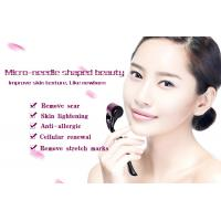 Buy cheap 540 Purple Roller Black Handle Microneedle Derma Roller Home Care Dodge Wrinkles product
