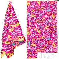 Quality Quick Dry Super Absorbent Lightweight Microfiber Beach Towels For Travel for sale