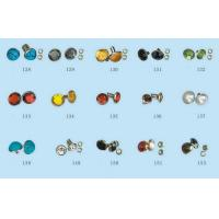 Buy cheap Crystal , Brass Custom Snap Buttons Rhinestone Nailhead Stud For Clothing / Shoes product