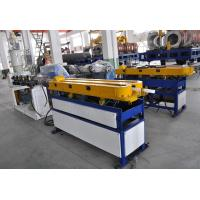 China PE/PP/PVC/EVA Single Wall Corrugated Pipe Production Line , Plastic PP Pipe Welding Machine on sale