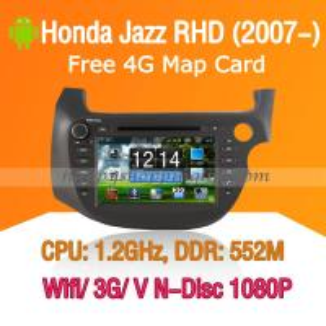 Buy cheap Honda Jazz RHD Android Autoradio DVD GPS Navi Digital TV Wifi 3G product