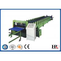 Buy cheap Color Steel Glazed Tile Roll Forming Machine , Custom Roof Tile Making Machine product