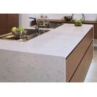 Luxury Kitchen Natural Quartz Countertops With Sinks Common Sizes
