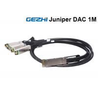 China Direct Attach Copper DAC AOC Cables 40GBASE-CR4 QSFP+ To 4 10GBASE-CU SFP+ on sale