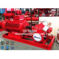 Buy cheap NFPA20 Standard Electric Motor Driven Fire Pump Set , Ul Fm Pump For Fire Fighting Use product