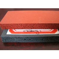 Buy cheap Aging Resistant Close Cell Silicone Sponge Rubber Sheet For Ironing Table And Seals product