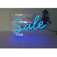Buy cheap Customized Advertising Display Decorative Acrylic LED Neon Light Sign from Wholesalers