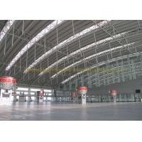 Buy cheap Waterproof Project Houses Steel Roof Trusses , Prefab Roof Trusses product