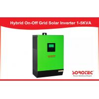 Buy cheap PF =1.0 Pure Sine Wave Solar Power Inverters On & Off - grid 1 Phase from Wholesalers