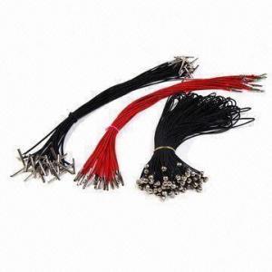 Buy cheap Black Elastic Cord with Metallic Flat Barbs product