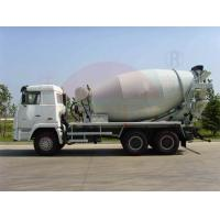 Buy cheap Air Pressure Ready Mix Cement Truck 10-12CBM , Water Supply Mobile Concrete Batch Truck product
