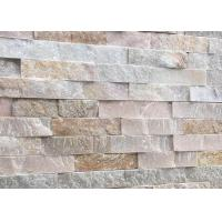 Buy cheap Solid Surface Laguna Faux Stone , Cappuccino Cluture Stone Panels product