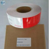 Buy cheap Prismatic Reflective Trailer Tape Conspicuity Red White emergency Vehicle DOT Approved product