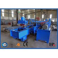 Buy cheap 2-WAVE Galvanized Steel Highway Guardrail Roll Forming Machine product