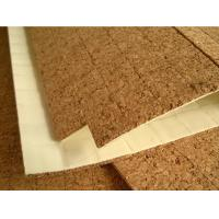 Buy cheap China Adhesive Cork Pads for Protective Glass 12x12mm, 1.5mm thickness Factory product