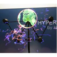 Buy cheap Holographic Display 3D Hologram LED Fan Hypervsn Player For Advertising product
