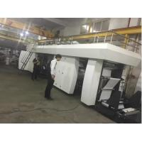 China Central Drum High Speed Flexo Printing Machine 4 Colors 1200mm Material Feeding Width on sale