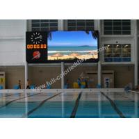 Buy cheap IP40 Low Noise Stadium LED Display 120°Ultra Wide Viewing Angle product
