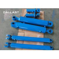 Buy cheap Customized Telescopic Double Acting Cylinder for Excavator / Trailer / Truck product