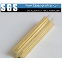 Buy cheap Customized Copper Alloy Shapes And DIY Lengths Decorative Brass Profiles product