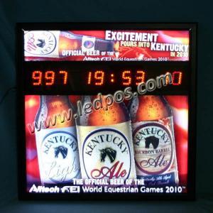 KENTUCKY Beer LED Countdown Display