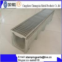 China Stainless and Galvanised Grating efficient drainage channel on sale