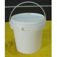5L plastic bucket with easy pull cover for paint