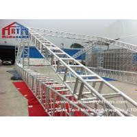 Buy cheap Customized Size Aluminium Tower Truss System Bolt Connection Long Life Span product