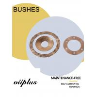 Buy cheap Diamond Phosphor Bronze Bushes & Washer Oil Grooves Holes CW453K CuSn8 product