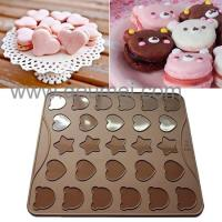 Buy cheap Wholesale Heat Resistant Silicone Kitchenware Mat/30 Capacity Cartoon Macaron Baking Mat product