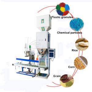 Buy cheap Hot Sale Stainless Steel 25kg 50kg Feed Rice Sugar Powder Granule Packing Machine product
