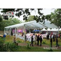 Buy cheap Aluminum Frame Small Garden Marquee Tent Waterproof with Glass Walls product