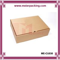 Buy cheap Simple corrugated printed paper packaging box for shoe/clothing/hat ME-CU030 product