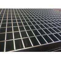 China Industrial Press Lock Steel Grating , Heavy Duty Steel Grating Mild Steel on sale