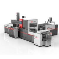 Buy cheap Advanced Automatic Positioning Machine , Industrial Box Making Machine product