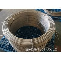 China ASTM A789 UNS S31803 Duplex coiled stainless steel tubing,Grade 2205 Coiled Metal Tubing on sale
