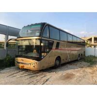 Buy cheap Strong Engine Large Used Commercial Bus 71 Seats Diesel Back Double Axles With AC Two Floor product