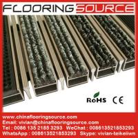 Heavy Duty Aluminum Entrance Floor Mat stop dirt absorb moisture and non slip for high traffic entrance