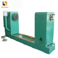 Buy cheap Low voltage transformer horizontal flat wire coil winding machine product