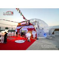Buy cheap 15m Diameter Transparent PVC Cover Half Sphere Tents for Festival from Wholesalers