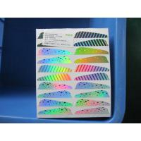 Buy cheap Hologram Reflective Side Minnow Labels For Fishing product