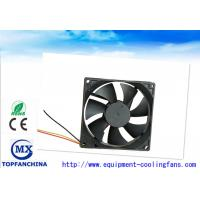 Buy cheap Plastic DC Axial Fans 12V 24V 48V , Electronics Cooling Fans 92mm X 92mm X 25mm from Wholesalers
