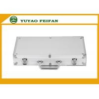 Buy cheap 300 Pcs Sliver Sright Sharp Corner Aluminum Poker Cases Play Gaming Accessories product