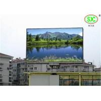 Buy cheap Commercial Full Color P10mm Led Advertising Screens / Outdoor Led Video Display product