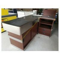 Buy cheap OEM Supermarket Checkout Counter / Stainless Steel Cash Register Table product