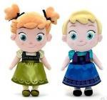 Buy cheap Small Girls Disney Plush Toys Elsa And Anna Frozen Baby Dolls 30cm product