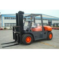 2 Stage / 3 Satge Mast Diesel Forklift Truck 8 Ton 7000mm Max Lift Height for sale