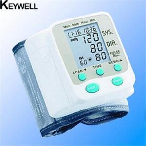 wristech blood pressure monitor instructions