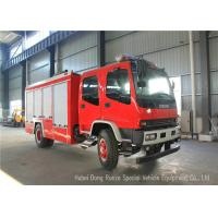 Buy cheap ISUZU FVR EURO5 Water Foam Fire Fighting Vehicles For Fireman Department product